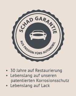 SCHAD Garantie